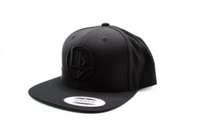 Liberty Walk Black Cap with Round LB Black Logo