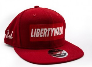 Libertywalk snapback red